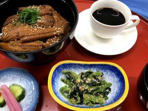 【ランチメニュー】穴子丼